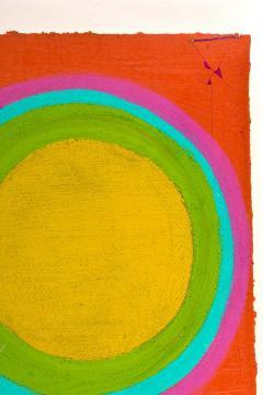 Murray Hantman Abstract Painting USA 1960s - 1697054