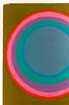 Murray Hantman Murray Hantman Abstract Painting on Board USA 1960s - 1564155