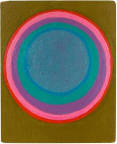 Murray Hantman Murray Hantman Abstract Painting on Board USA 1960s - 1564804