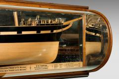 Museum quality shipbuilders mirror backed model - 817004
