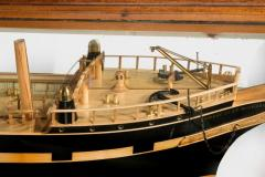 Museum quality shipbuilders model of sailing ship The Knight of St Michael - 828430