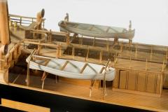 Museum quality shipbuilders model of sailing ship The Knight of St Michael - 828431