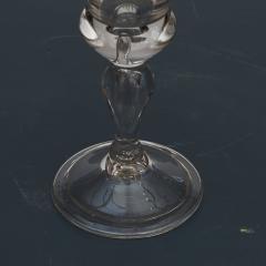 N STETANGEN CHRYSTAL DESERT GLASS WITH FREDERIK VS CROWNED MONOGRAM - 2135761