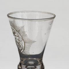 N STETANGEN CHRYSTAL DESERT GLASS WITH FREDERIK VS CROWNED MONOGRAM - 2135762