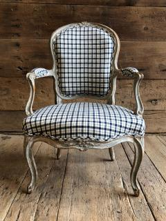 Nadal L Aine Louis XV Fauteuil Cabriolet Signed Nadal LAine circa 1760 - 826341