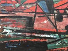Nahum Tschacbasov Abstract Sailing 1945  - 716900