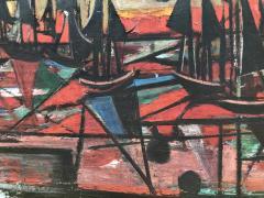 Nahum Tschacbasov Abstract Sailing 1945  - 716911