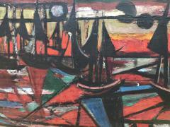 Nahum Tschacbasov Abstract Sailing 1945  - 716923