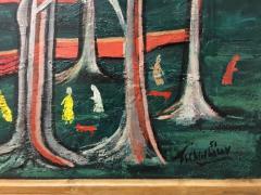 Nahum Tschacbasov Nine Figures in the Park - 1750426