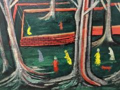 Nahum Tschacbasov Nine Figures in the Park - 1750428