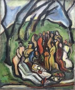 Nahum Tschacbasov Picnic in the Park - 1648095