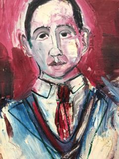 Nahum Tschacbasov Portrait of J Bickel  - 1063636