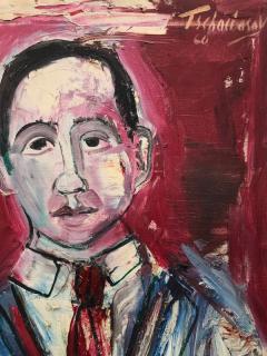 Nahum Tschacbasov Portrait of J Bickel  - 1063638