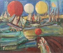 Nahum Tschacbasov Ships and Orbs  - 2008694