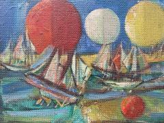 Nahum Tschacbasov Ships and Orbs  - 2008695