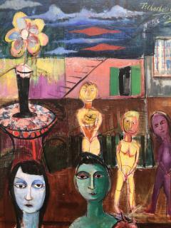 Nahum Tschacbasov Surreal Family  - 754152