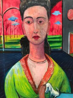 Nahum Tschacbasov Woman with Goldfish  - 1317982