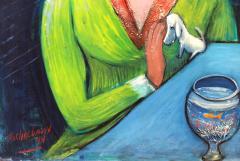 Nahum Tschacbasov Woman with Goldfish  - 1317984