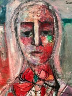 Nahum Tschacbasov Woman with Red Bow  - 799746