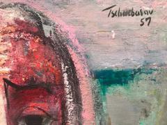 Nahum Tschacbasov Woman with Red Bow  - 799750