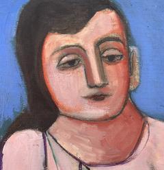 Nahum Tschacbasov Woman with Red Dog  - 1897212