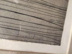 Najar Barsoumian Hratchaya Modern Black Abstract Engraving 10 60 - 1075855