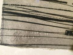Najar Barsoumian Hratchaya Modern Black Abstract Engraving 10 60 - 1075856