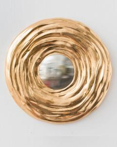 Nancy Lorenz 15 5 Inch Red Gold Mirror - 970938