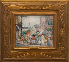 Nancy Maybin Ferguson Saturday Shoppers Provincetown  - 925993