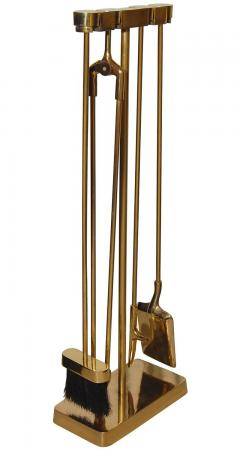 Nancy Ruben Minima Bronze Fireplace Tool Set - 74749