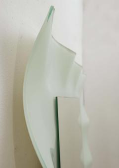 Nanda Vigo Italian Mirror By Nanda Vigo For Glas Italia - 1896124