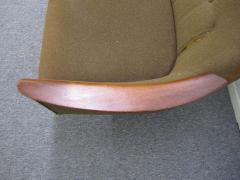 Nanna Ditzel Nanna Ditzel Style Four Seat Sculptural Teak Sofa Mid Century Danish Modern - 1877386