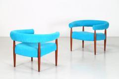 Nanna Ditzel Pair of Original Nanna Ditzel Ring Chairs - 1183071
