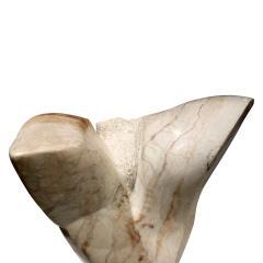 Naomi Feiberg Naomi Feinberg Flight Sculpture in Alabaster Marble 1960s - 710133