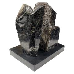 Naomi Feinberg Naomi Feinberg Fractured Planet Sculpture in Italian Red Levanto 1960s - 710382