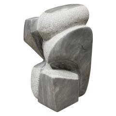 Naomi Feinberg Naomi Feinberg Visitor Sculpture in Grey Granite 1970s - 710394