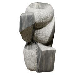 Naomi Feinberg Naomi Feinberg Visitor Sculpture in Grey Granite 1970s - 710396
