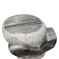Naomi Feinberg Naomi Feinberg Visitor Sculpture in Grey Granite 1970s - 710402