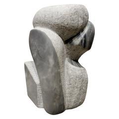 Naomi Feinberg Naomi Feinberg Visitor Sculpture in Grey Granite 1970s - 710403