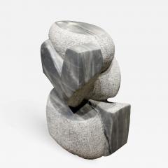 Naomi Feinberg Naomi Feinberg Visitor Sculpture in Grey Granite 1970s - 712775