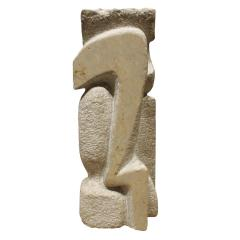Naomi Feinberg Naomi Feinberg When Gentle Things Were Said Sculpture in Italian Marble 1970s - 709939