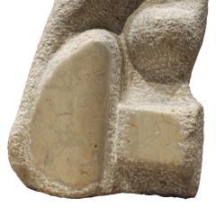 Naomi Feinberg Naomi Feinberg When Gentle Things Were Said Sculpture in Italian Marble 1970s - 709943