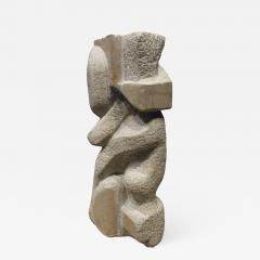 Naomi Feinberg Naomi Feinberg When Gentle Things Were Said Sculpture in Italian Marble 1970s - 712767
