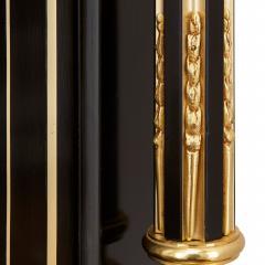 Napoleon III hardstone and ebonised wood bonheur du jour - 1516339