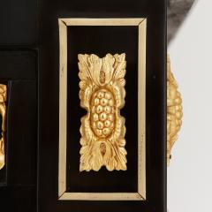 Napoleon III hardstone and ebonised wood bonheur du jour - 1516350