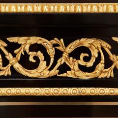 Napoleon III hardstone and ebonised wood bonheur du jour - 1516354