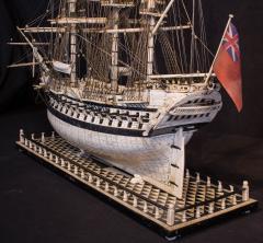 Napoleonic Prisoner of War Model of a 2nd Rate Ship of 72 Guns - 1508713