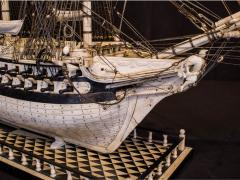 Napoleonic Prisoner of War Model of a 2nd Rate Ship of 72 Guns - 1508716