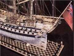 Napoleonic Prisoner of War Model of a 2nd Rate Ship of 72 Guns - 1508720