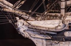 Napoleonic Prisoner of War Model of a 2nd Rate Ship of 72 Guns - 1508721